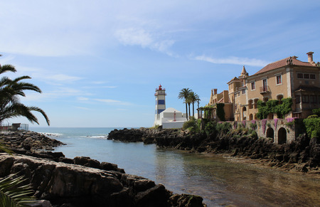 Lighthouse and Sea, Cascais