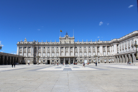 Palacio Real, Royal Palace, Madrid, Spain