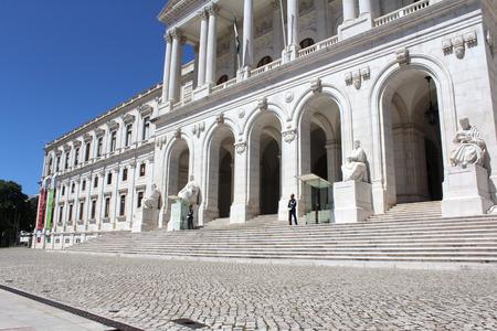 Portuguese Parliament Building, Lisbon, Portugal