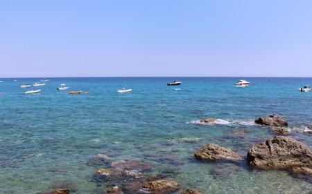 Sea and Boats Zdjęcie Seryjne - 81239887