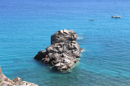 Sea, Big Rocks,