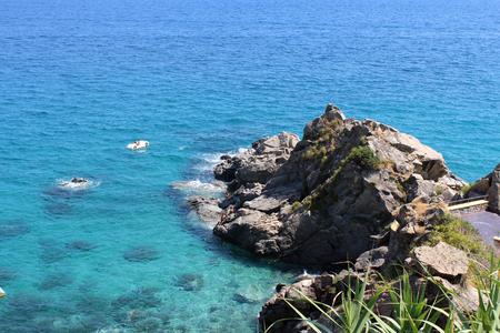 Sea and Big Rocks Zdjęcie Seryjne - 81404328