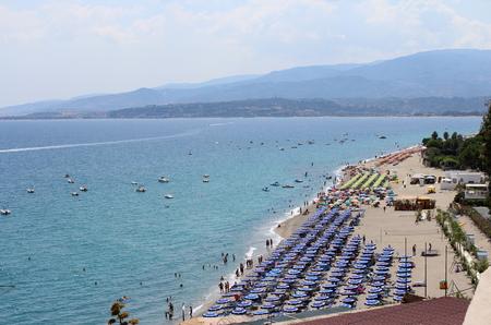 Sea, Coastline and Umbrellas