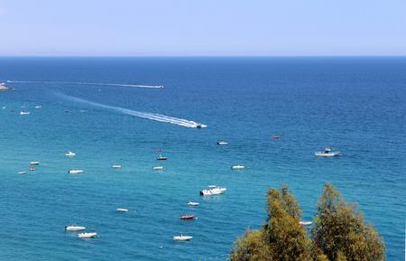 tyrrhenian: Sea and Boats