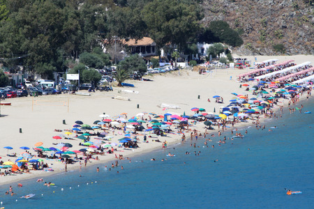 People on the Beach, Catanzaro