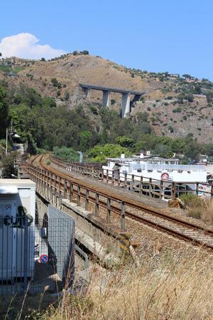 Old Railway Zdjęcie Seryjne