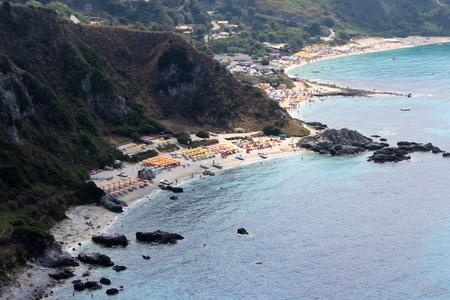 tyrrhenian: Sea, Coastline and Cliff, Summer Time, Nature Scene, Capo Vaticano, Calabria, Vibo Valentia