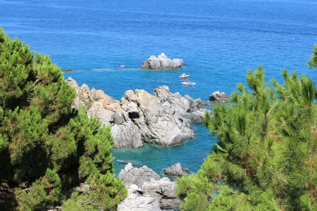 Sea, Coastline, Summer Time, Nature Scene, Caminia, Calabria, Catanzaro
