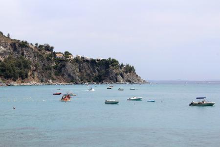 Sea, Coastline, Summer Time, Nature Scene, Caminia, Calabria, Catanzaro