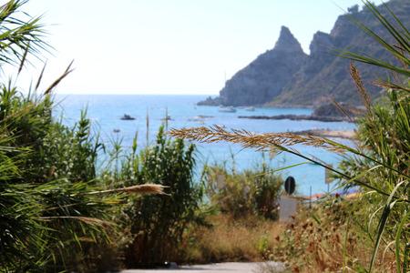 capo: Sea, Coastline and Cliff, Summer Time, Nature Scene, Capo Vaticano, Calabria, Vibo Valentia