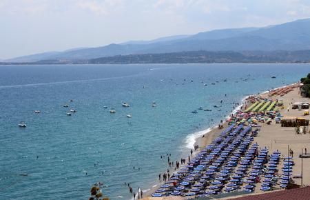 turismo ecologico: Sea, Coastline, Summer Time, Nature Scene, Caminia, Calabria, Catanzaro