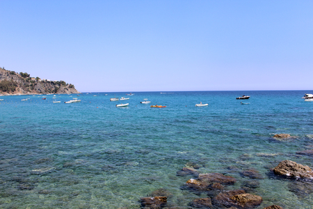 tyrrhenian: Sea, Coastline, Summer Time, Nature Scene, Caminia, Calabria, Catanzaro