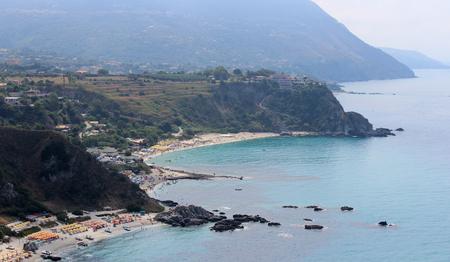 Sea, Coastline and Cliff, Summer Time, Nature Scene, Capo Vaticano, Calabria, Vibo Valentia
