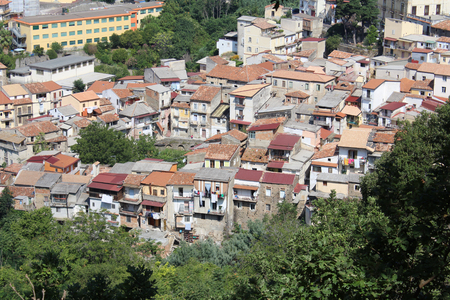 Old Houses, Medieval Little City, South Italy