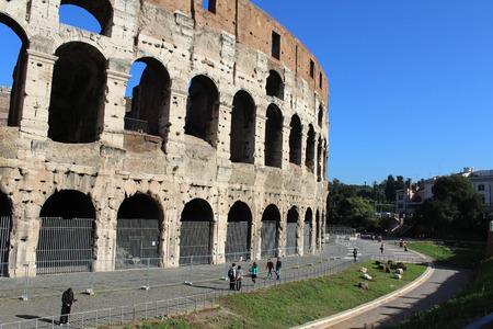Colosseum, Coliseum, Flavio's Theater, Rome, Italy