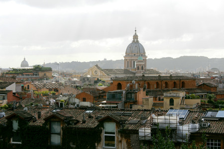 Rome, Panoramic View, Italy