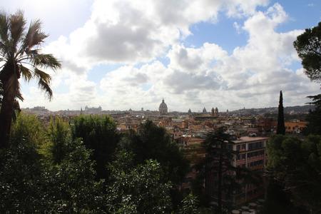 Rome, Panoramic View, Italy