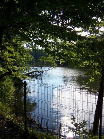 hidden lake Stock fotó