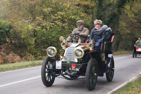 London to Brighton Veteran Car Run 6th Nov 2011, Slough Green, West Sussex http:www.veterancarrun.com