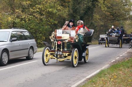 london to brighton veteran car run: London to Brighton Veteran Car Run 6th Nov 2011, Slough Green, West Sussex http:www.veterancarrun.com