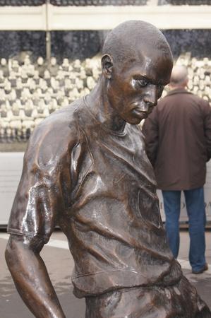 Thierry Henry Statue at Emirates Stadium