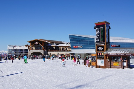 boarders: Roundhouse and Peak 2 Peak, Whistler Mountain
