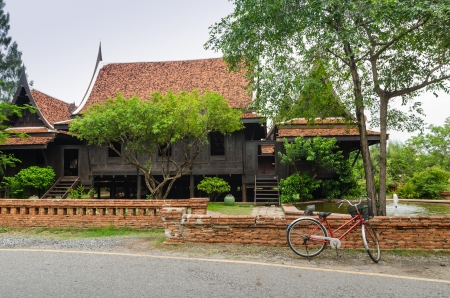 Thai style wooden house Stock Photo - 14713692