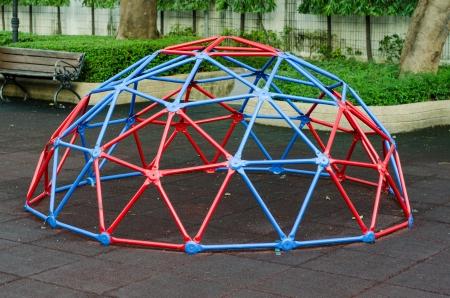 Modern children playground in public park Stock Photo - 15278312