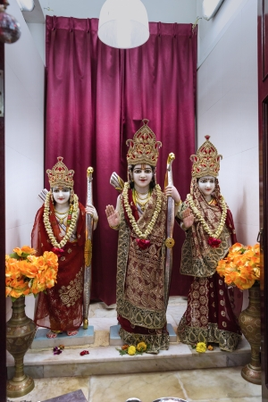 vedas: Lord Ramji of Sri Lakshminarayan Temple in Singapore, a place of faith, devotion, worship, love, peace and harmony Editorial