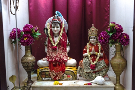 vedas: Lord Shivji of Sri Lakshminarayan Temple in Singapore, a place of faith, devotion, worship, love, peace and harmony Editorial