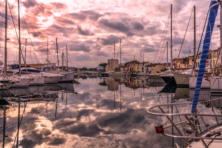 Harbor of Port Grimaud