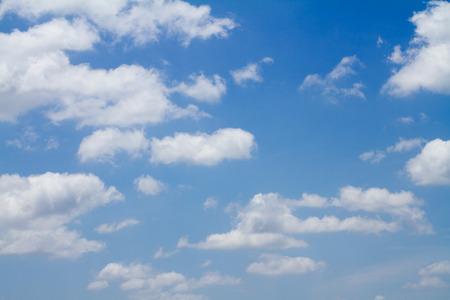 cumuli: white Cloud and Blue Sky. backgrund, wallpaper