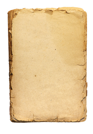 vecchi fogli di carta con l'allargamento della tessitura dettagli