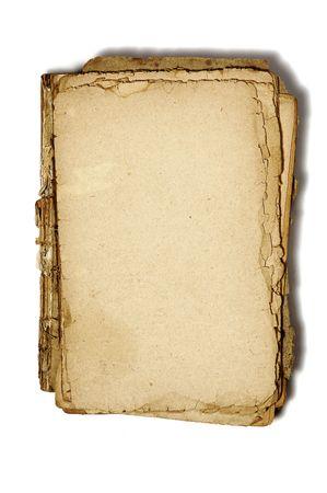 oud document: textuur van oud papier