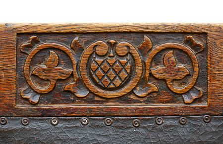 upholster: ancient carving wood pattern, beginning of 20 century