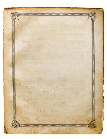 vecchia carta sfondo Archivio Fotografico