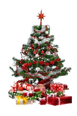 decorated Christmas tree Stock Photo - 8686673