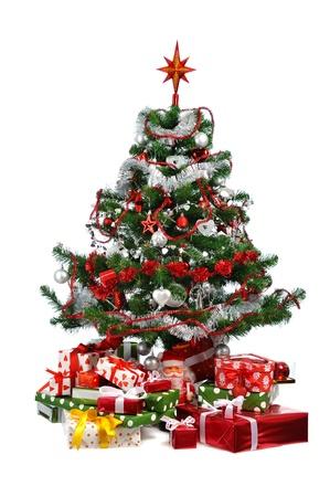 decorated Christmas tree Stock Photo - 8686673