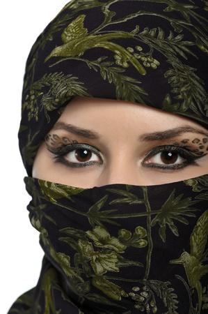 portrait of beautiful eastern woman