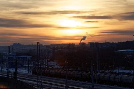 freight train: The Freight Train. Stock Photo