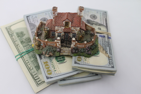 House mortgage concept