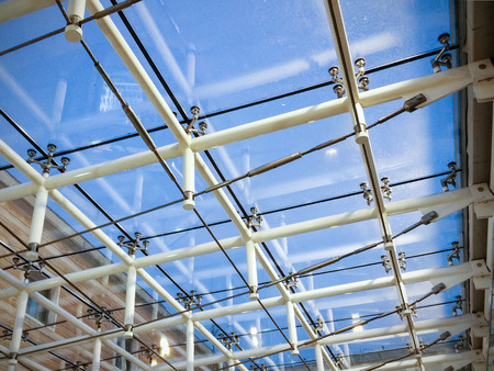 ceiling: Glass Ceiling Stock Photo