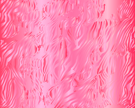 Pink texture on a gradient background. Vector graphics, illustration of saturated pink tones on a gradient background. Beautiful, textured, unusual background of pink shades. 矢量图像