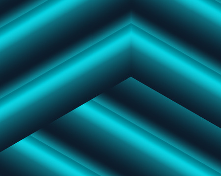 Three-dimensional composition of a rubber-blue canvas. The contour typography of a rubber-blue canvas is the most fashionable trend in website design and innovative products. Vector illustration of a three-dimensional room. Çizim