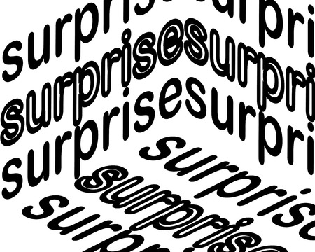 surprise inscription. Inspirational quote, motivation. Typography for t shirt, invitation, greeting card sweatshirt printing and embroidery. Print for tee. There is beauty in simplicity.