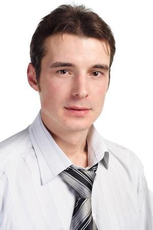 whitem: businessman isolated on white Stock Photo