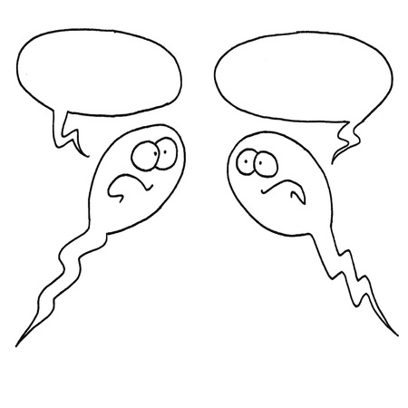 speaking with each other sperm