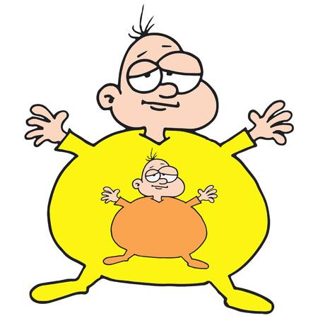Obese Baby - Inside Illusztráció