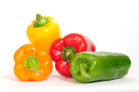 Peppers of different colors. Stock Photo - 8843313