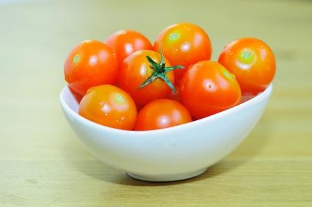 sherry: Sherry tomatoes. Stock Photo